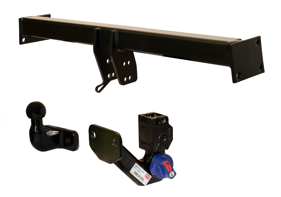 detachable flange towbar assembly from Witter
