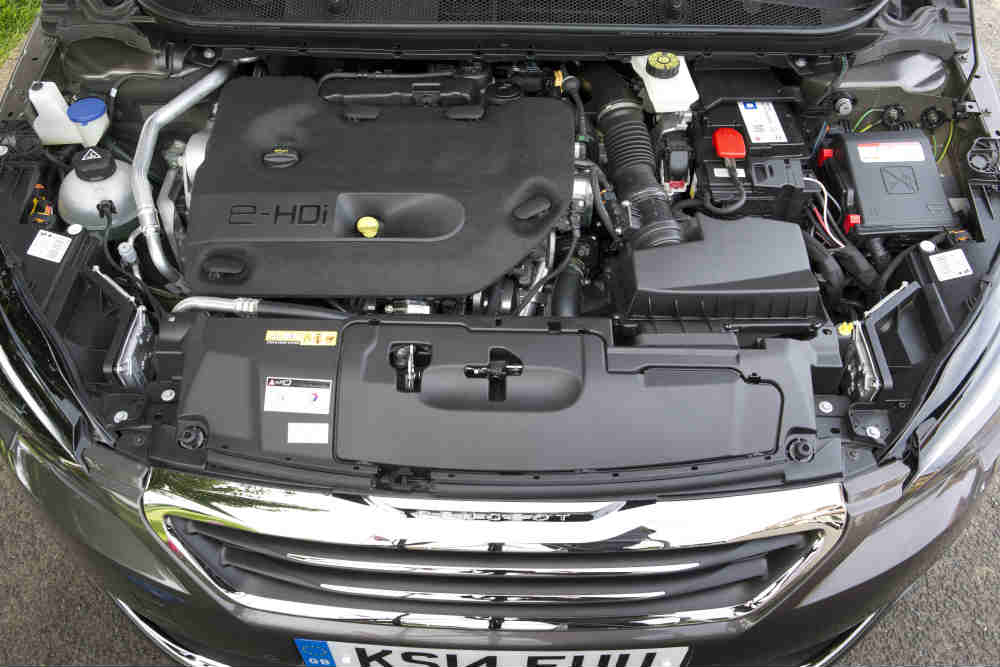the engine in the Peugeot 308 SW