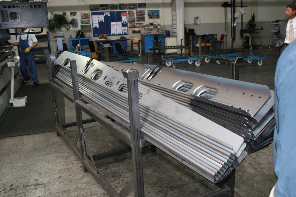 galvanised chassis parts