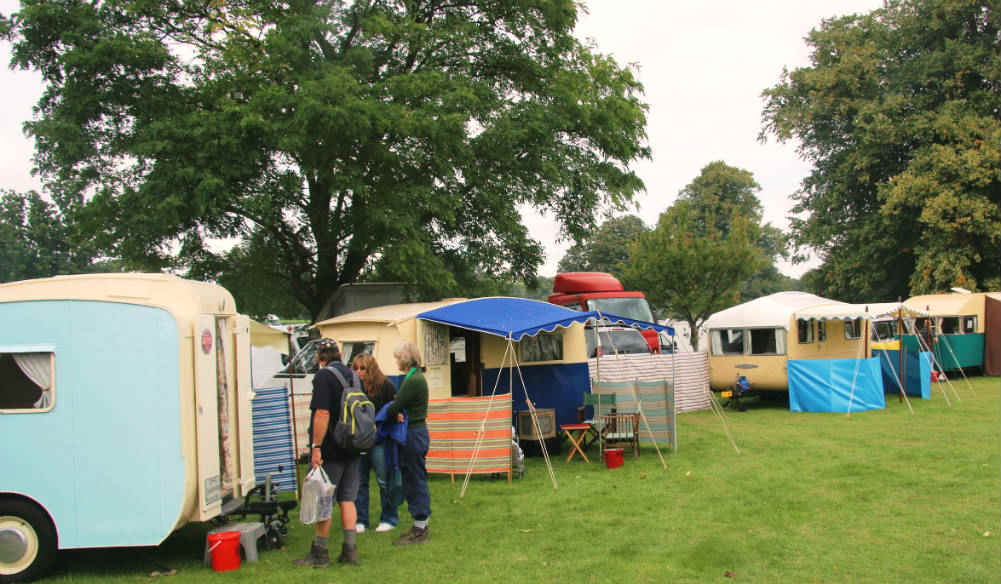 Rallying for classic caravans