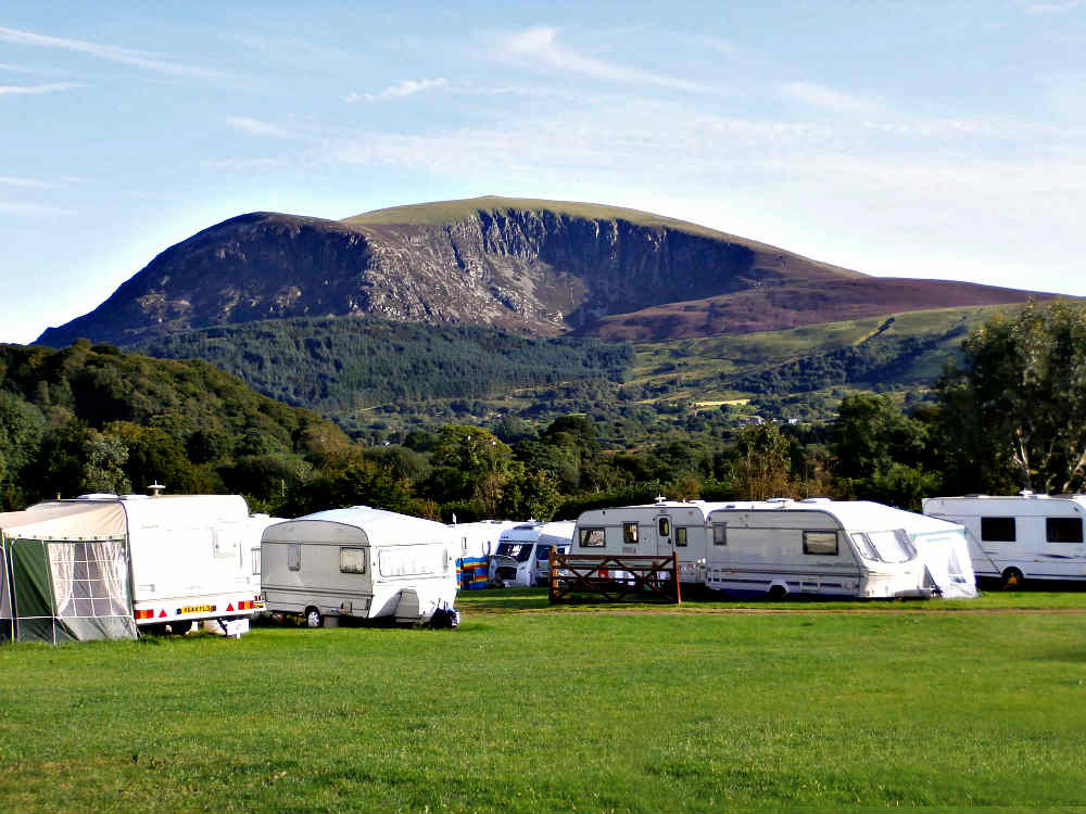 Seasonal pitches with views