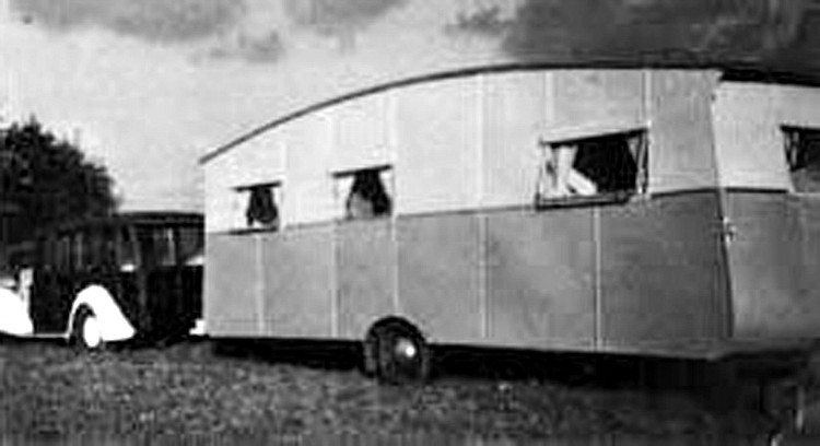 Willerby's earliest image, from 1946