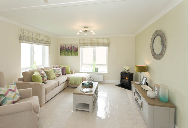 Prestige Avanti Park Home Lounge