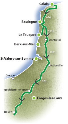 The long road south - a motorhome route through France to Spain ...