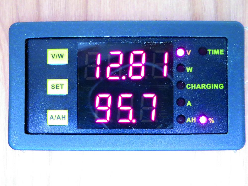 Fiat Ducato Monitor 12V Battery Tester Condition Meter Camper Van