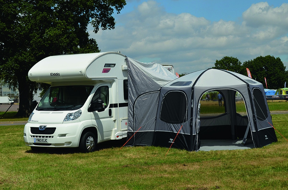 A guide to awnings for motorhomes and campervans - Practical