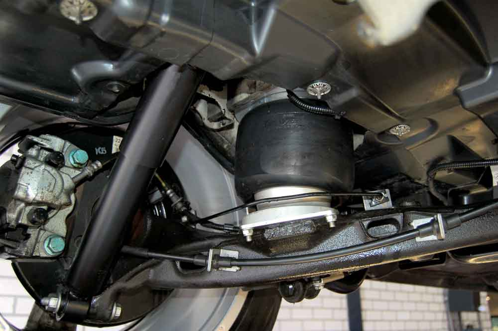 Motorhome levelling and air suspension systems explained