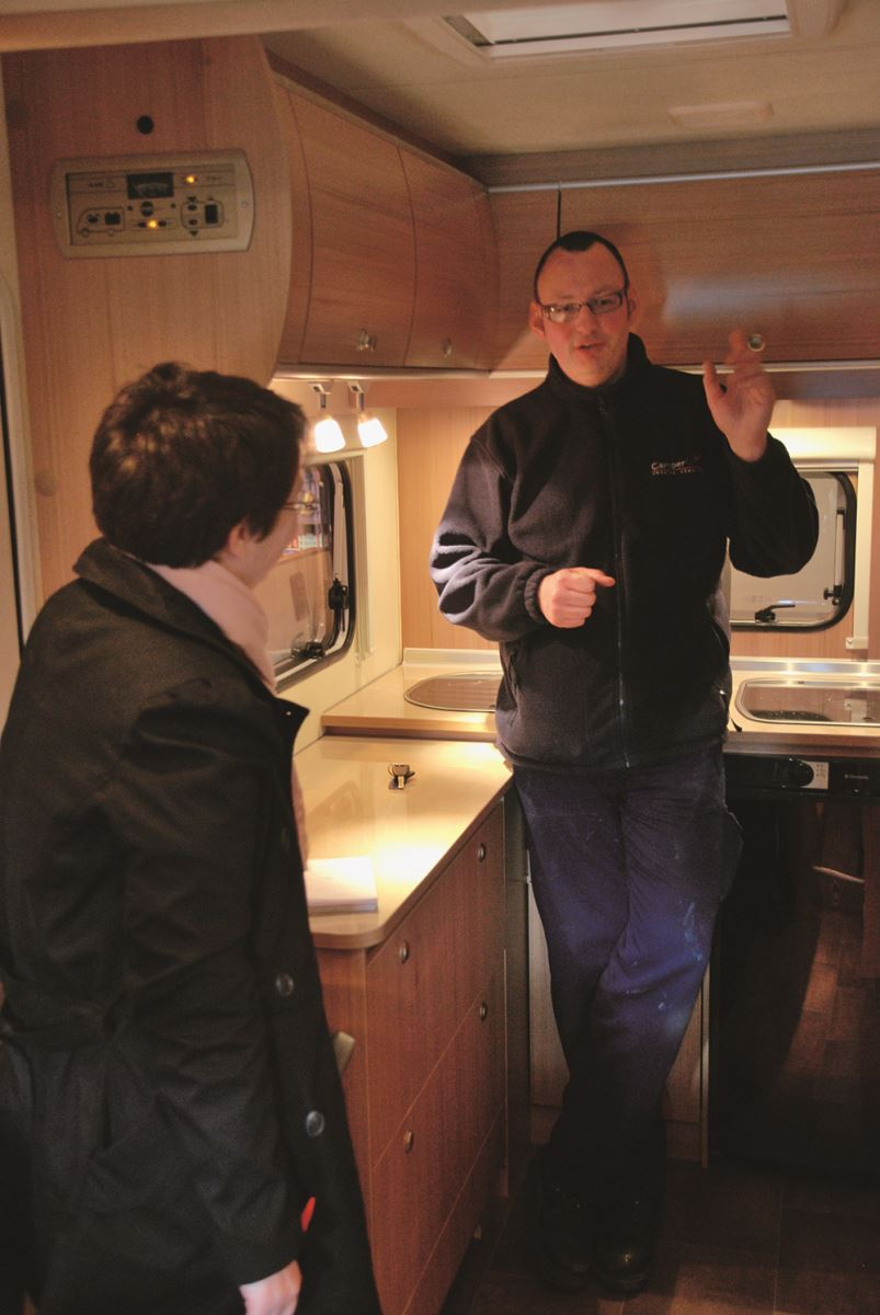 Haggling with a motorhome dealer