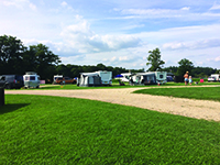 Long Meadow campsite, Hampshire